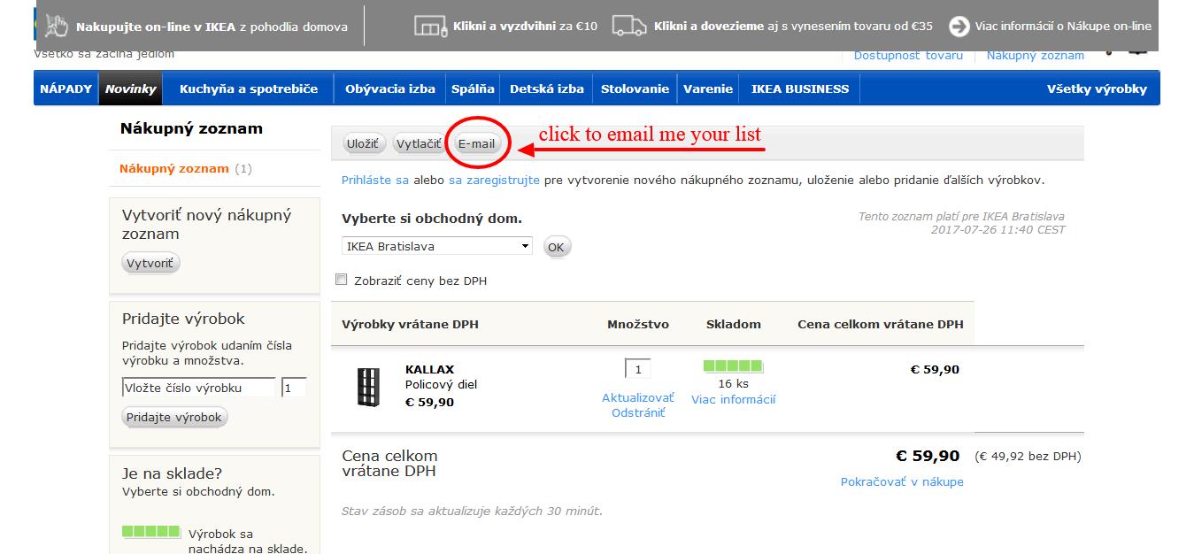 www.manandvan.sk Ikea shopping guide